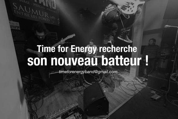 time for energy recherche nouveau batteur